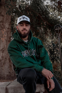 Prevail - Forest green Hoodie