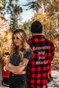 Unisex - Red Flannel