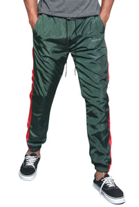 Green & Red - TRACK PANTS