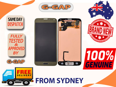 Samsung Galaxy S5 i9600/ G900F LCD Screen with Digitizer Touch Panel AU STOCK