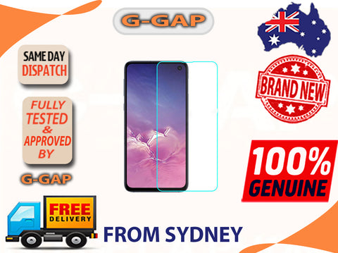 Samsung Galaxy S10e G970,S10 Lite Full Curved Tempered Glass Screen Protector (with UV Light & UV Glue) (Retail Packaging)