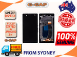 Sony Xperia Z L36h LCD Screen Digitizer Touch Panel With Bazel Frame AU STOCK