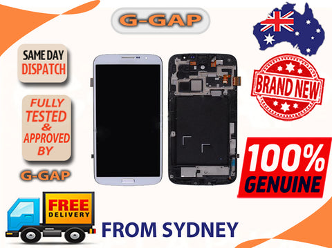Samsung Galaxy Mega 6.3 i9200/ i527 LCD Digitizer Touch Panel With Bazel Frame