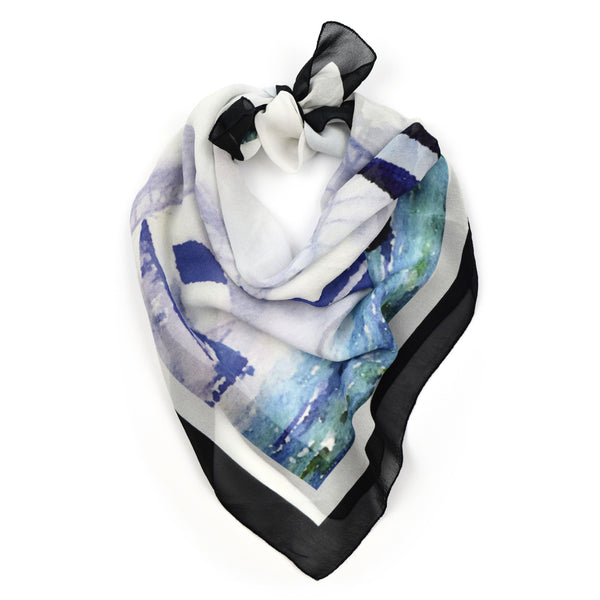 Sail Boats Watercolor Scarf 35 | THERESA DELGADO