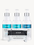 Argan Oil Hair & Body Collection & Charcoal Wipes - Full Set