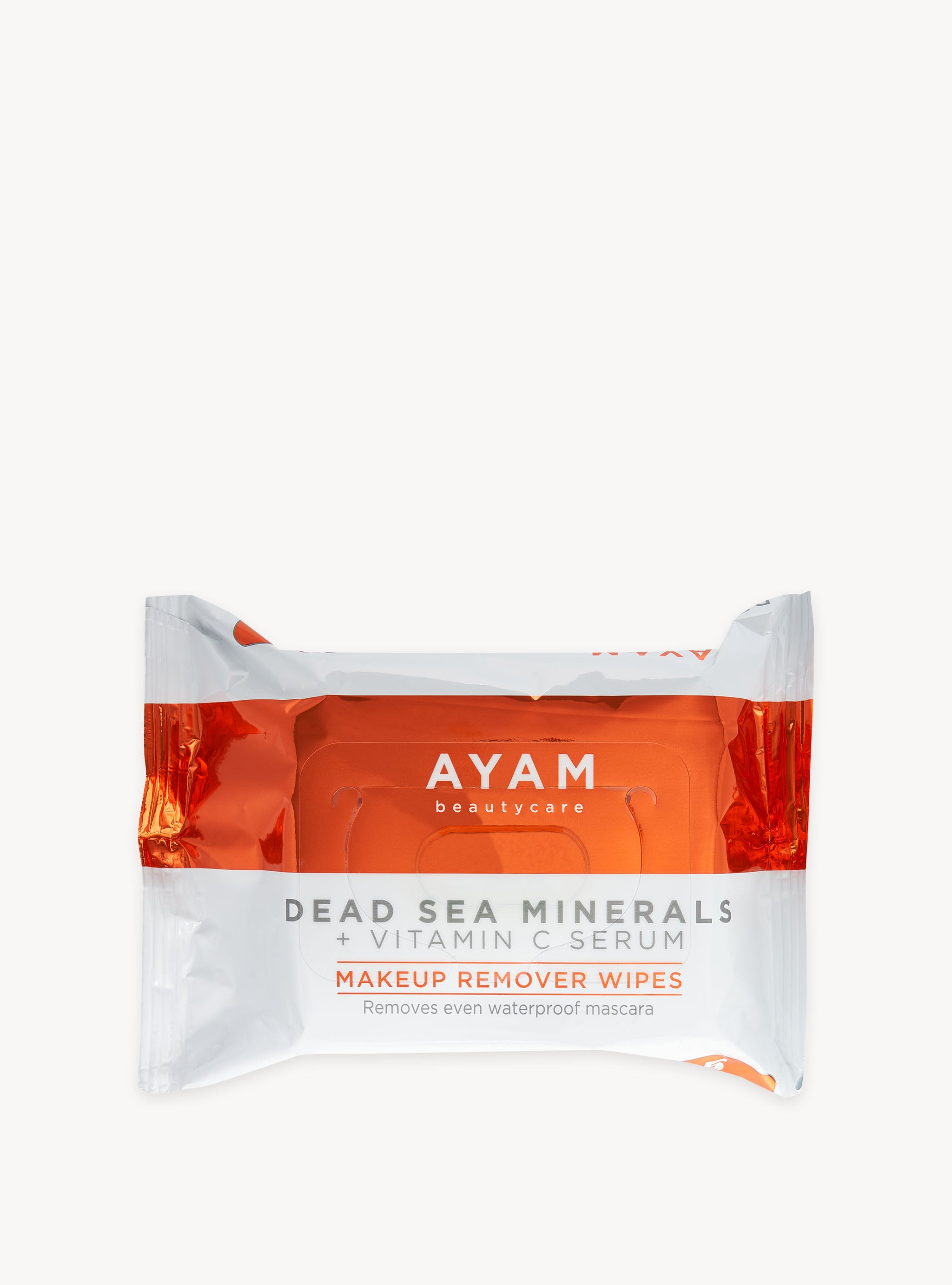 Vitamin C Serum + Dead Sea Minerals - Makeup Remover Wipes