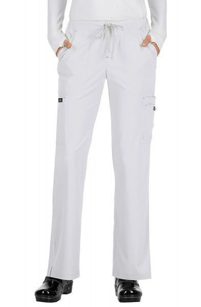 Koi Basics - Women's Scrub Trousers (Holly or Laurie) - White