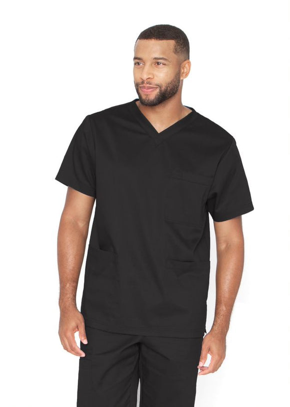 Barco Essentials V-neck unisex scrub top BE002