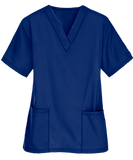 Big 5 Premium Unisex Medical Scrubs Suit Set of Tunic and Trousers - Galaxy Blue