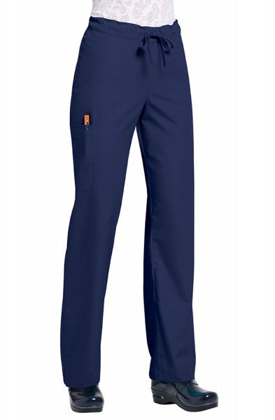 Orange Standard Unisex Huntington Trouser Navy