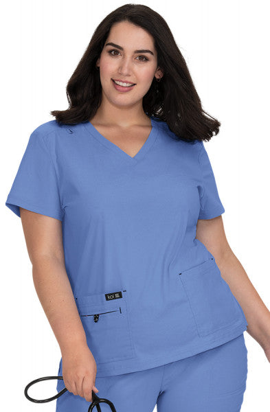 Koi Basics - Women's Scrub Tunic (Becca or Katie) - True Ceil