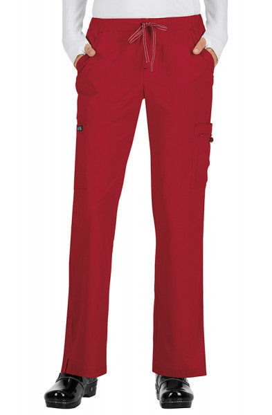 Koi Basics - Women's Scrub Trouser (Holly or Laurie) - Ruby