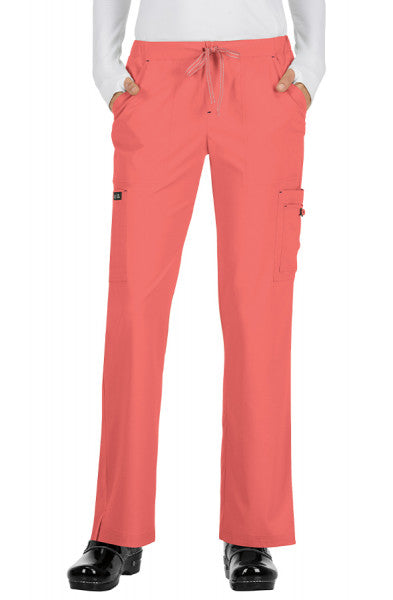 Koi Basics - Women's Scrub Trousers (Holly or Laurie) - Coral
