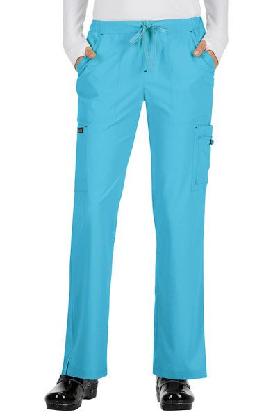 Koi Basics - Women's Scrub Trouser (Holly or Laurie) - Electric Blue