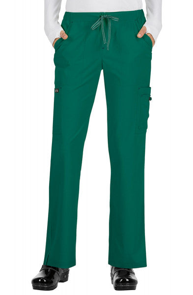 Koi Basics - Women's Scrub Trousers (Holly or Laurie) -Hunter Green