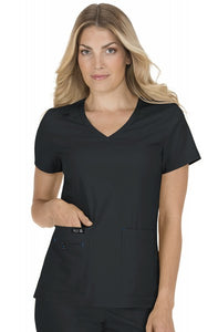 Koi Basics - Women's Scrub Tunic (Becca or Katie) - Black