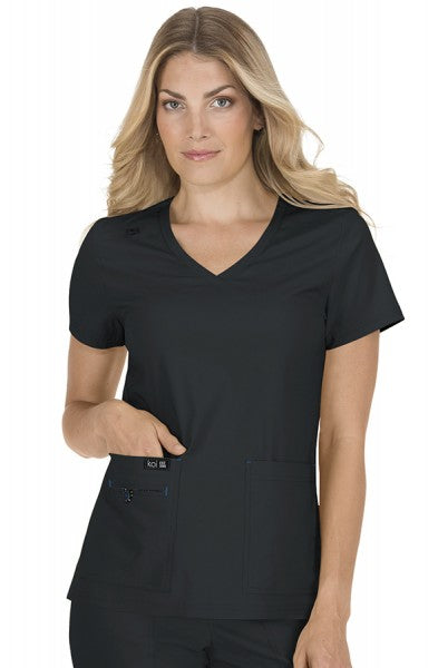 Koi Basics Becca Top Black