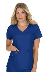 Koi Basics - Women's Scrub Tunic (Becca or Katie) - Galaxy