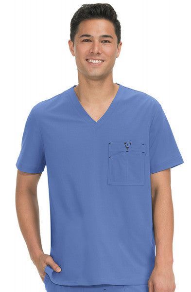 Koi Basics - Men's Scrub Top (Bryan) -Ceil