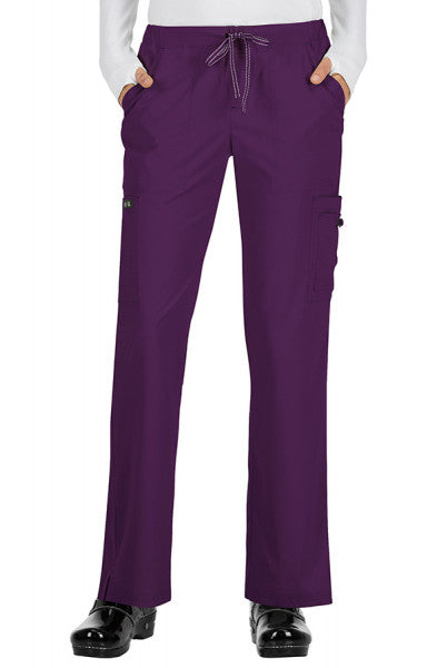 Koi Basics - Women's Scrub Trouser (Holly or Laurie) - EggPlant