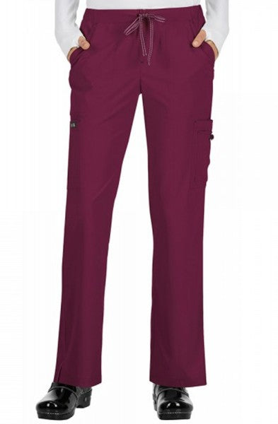 Koi Basics - Women's Scrub Trousers (Holly or Laurie) - Wine