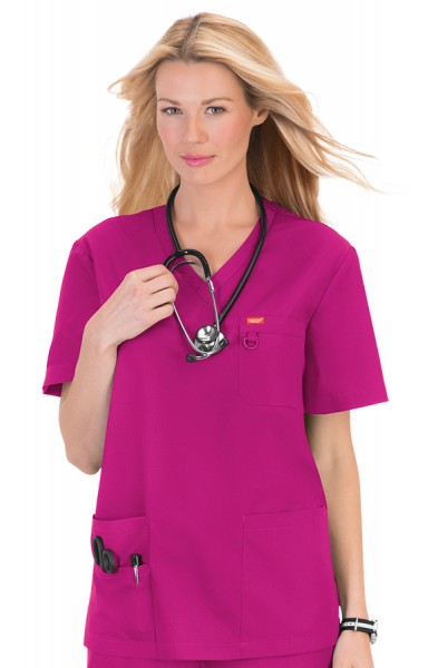 Orange Standard Unisex Balboa Top Fuscia