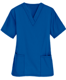 Big 5 Premium Unisex Medical Scrubs Suit Set of Tunic and Trousers - Royal Blue