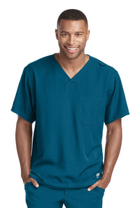 Skechers Mens Structure Crossover Scrub Top SK0112