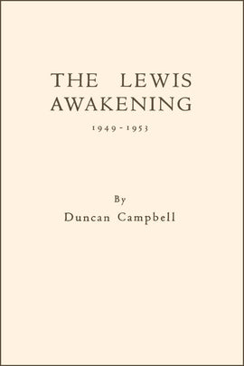 The Lewis Awakening - Duncan Campbell - ebook