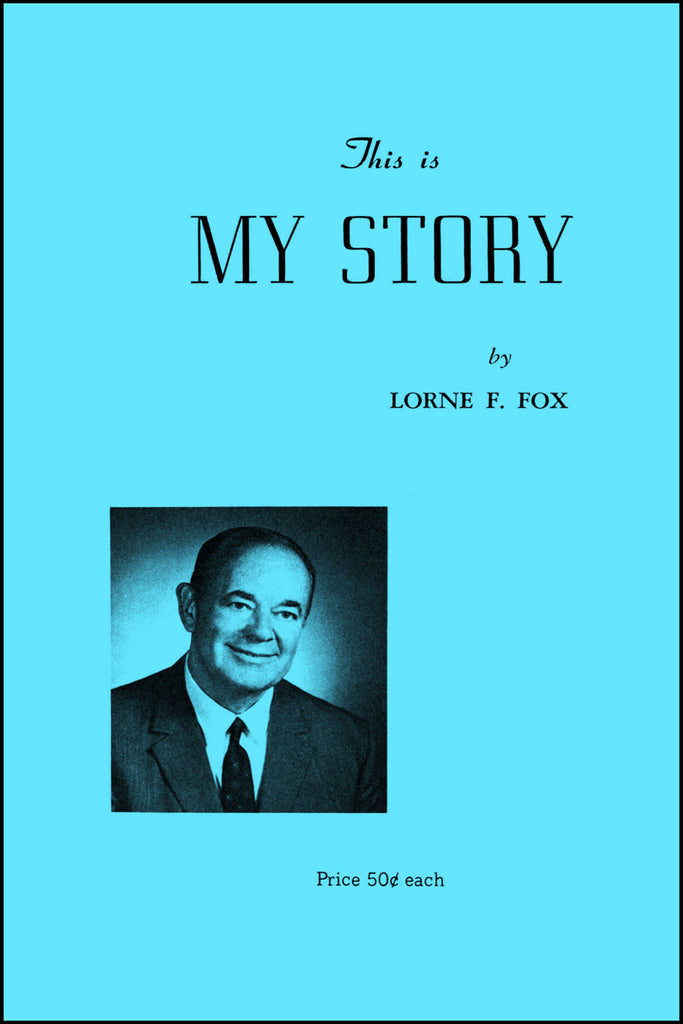 This is My Story - Lorne Fox - eBook