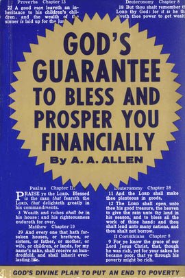 Gods Guarantee To Prosper You - A. A.Allen - eBook