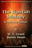 The Sign Gift Ministry - W. V.Grant - eBook