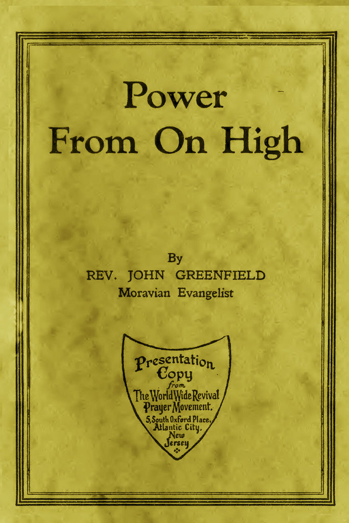 Power From on High - John Greenfield - ebook
