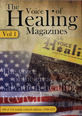 New Colored Voice of Healing CD  1948-1957
