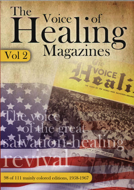 New Colored Voice of Healing CD  Vol 2 - 1958-1967