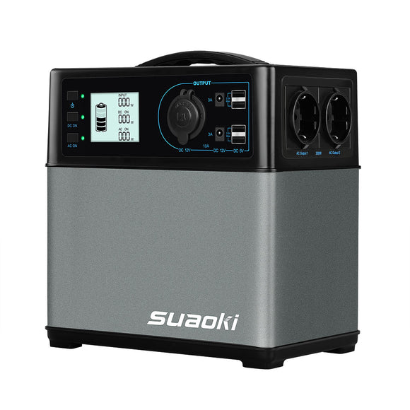 Suaoki PS5B 400wh Solar portable power station operated generator