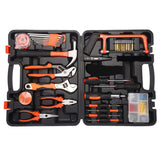 FLOUREON Multi Household Home Handle Electric Carpenter 100PC DIY Repair Tools Kits Set Garage Car Tool Garden