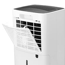 Finether OL12-BD023A 12L/Day Dehumidifier with 2L Water Tank, Drain Hose and Auto Defrost