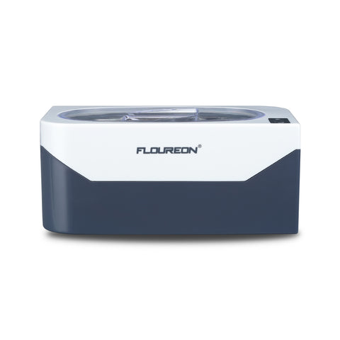 Floureon 400ml Professional Ultrasonic Cleaner For Glasses Waterproof Watches Rings Necklaces Coins