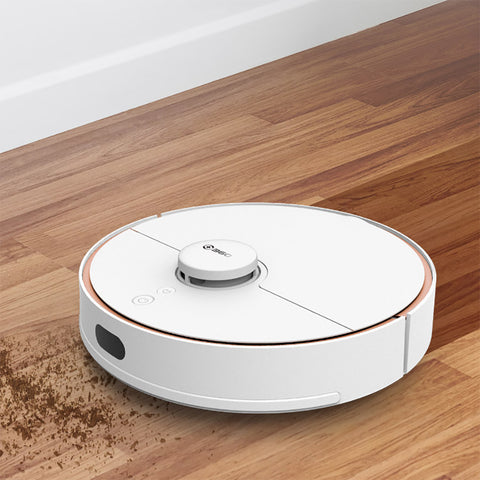 360 S7 Robot vacuum Laser 2000Pa Route Planning Suction Ultra-quiet Map Memory Sweeping Floor Mopping Auto Self-Charging