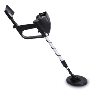 Metal Detector with Waterproof MD4030 Deep Sensitive Metal Detector Adjustable Height 2 Modes Outdoor Searching Gold Digger with Backlight LCD Display Professionals Treasure Hunter