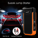 Suaoki U10 800A Peak Car Jump Starter Auto 20000mAh with Intelligent Clamps Battery Booster and Charger EU Plug
