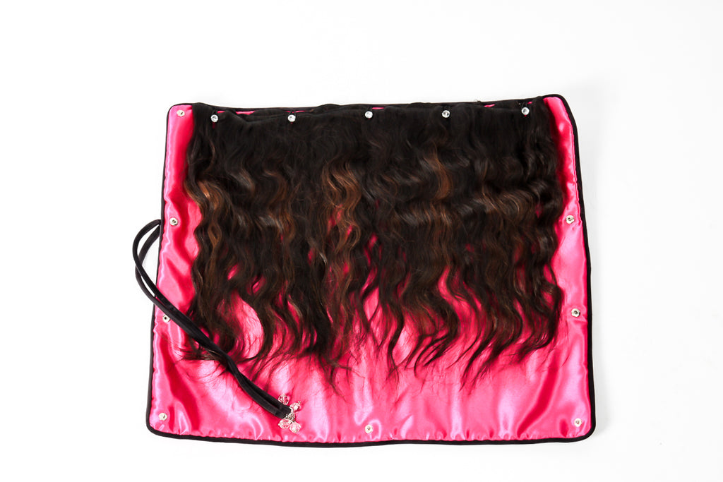 Athena Virgin Hair Extension Storage Unit provides the best way to care for your hair extensions, bundles or clip-ins in between installs.