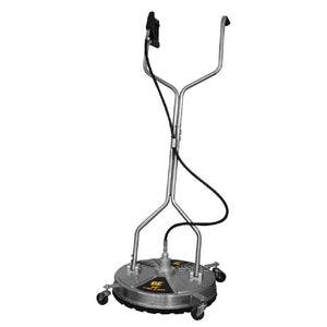 "BE 20"" Commercial Stainless Steel Flat Surface Concrete Cleaner 4000psi Minimum 3.5gpm"