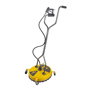 "BE 20"" Light Commercial Poly Plastic Flat Surface Concrete Cleaner with Wheels 4000psi Minimum 3.5gpm"