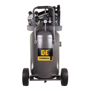 BE AC3230B Belt Drive Air Compressor 30 Gallon Portable Electric 120 or 240 Volt
