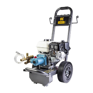 BE B3065HJ 3000psi 2.7gpm Honda with CAT Pump and Steel Frame