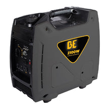 Load image into Gallery viewer, BE BE2100i 2100 Watt Quiet Inverter Generator 7 Hour Runtime at 1/4 Load Pull Start