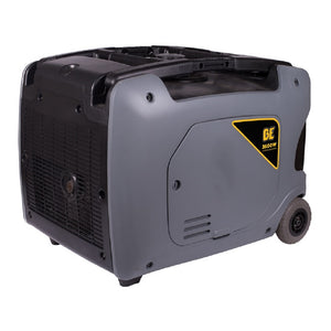 BE BE3600IE 3600 Watt Quiet Inverter Generator 16 Hour Runtime at 1/4 Load Electric Start