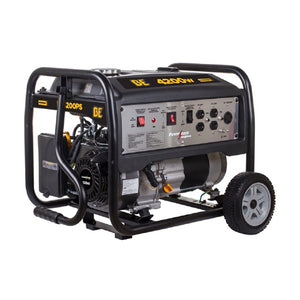 BE BE4200PS 4200 Watt Commercial Generator 7 Hour Runtime at Full Load Pull Start